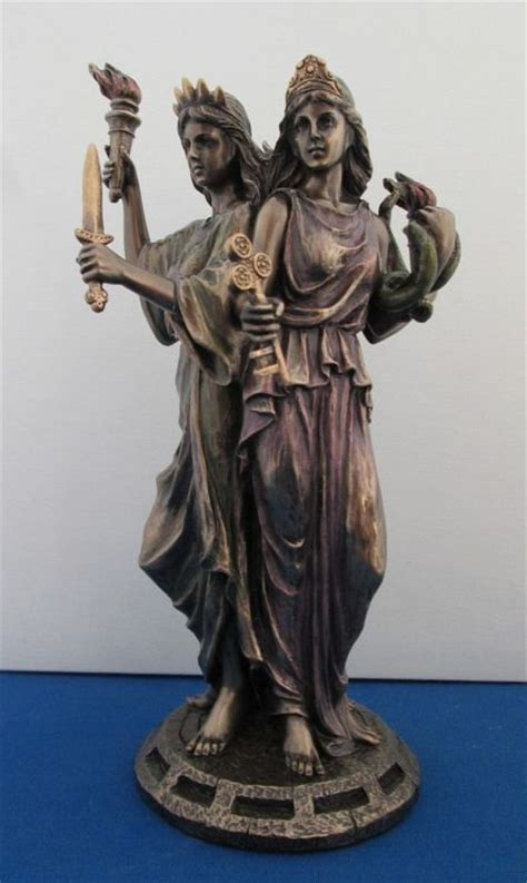 Statues Of Gods by Hecate Goddess Statue Triple Goddess Of The Crossroads
