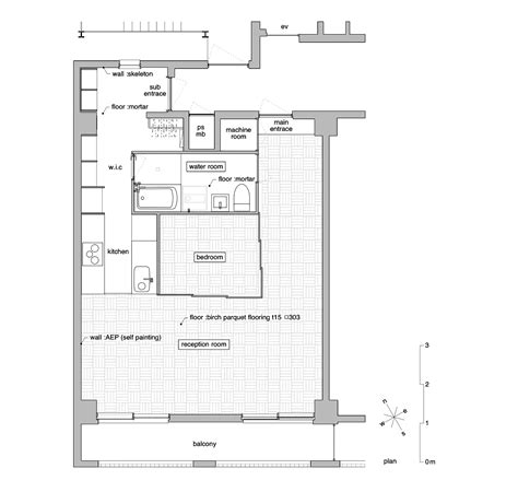 guide to japanese apartments floor plans photos and small japanese apartment splits up space with partitions