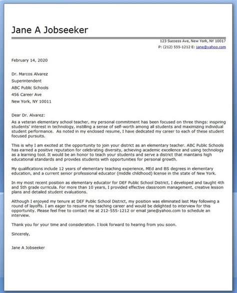 Expressive Therapist Cover Letter by Bitesize