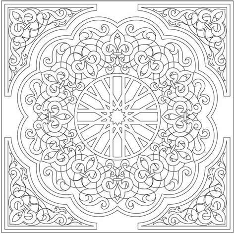 islamic arabesque coloring pages tuub mandala boyama sayfaları mandalas coloring pages