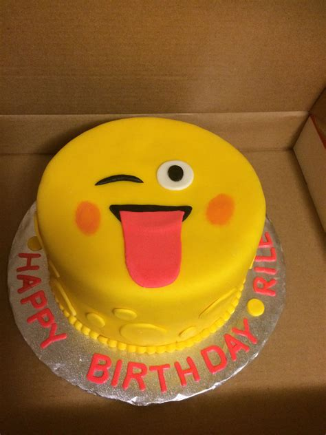emoji birthday cake emoji birthday cake cakecentral com