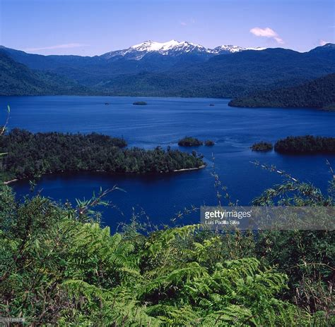 quitralco fjord in patagonia aysen chile stock photo - Quitralco Fjord