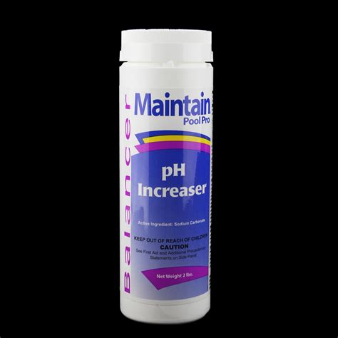 maintain pool pro balancer ph increaser 2lbs tanga