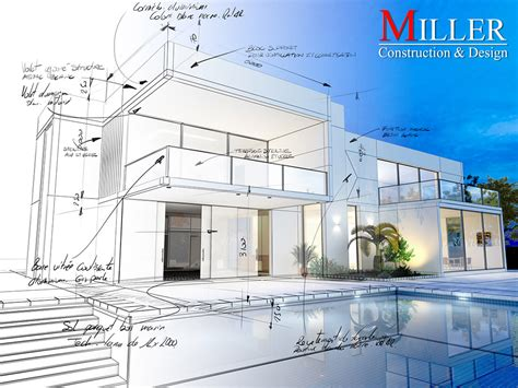 new construction design announcing the launch of miller construction design s
