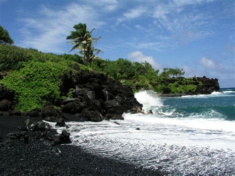 what is black sand black sand beaches world super travel