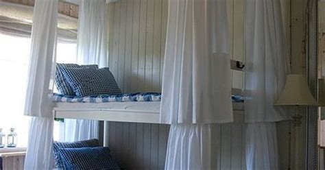 Bunk Bed Privacy Curtain The Curtains Around Each Bunk Bed Gives Each Person The Option Of Privacy For The