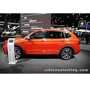 VW Tiguan Allspace &amp R Line At IAA 2017
