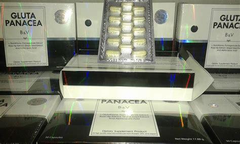 Eceran Gluta White gluta panacea kemasan terbaru original jual kosmetik