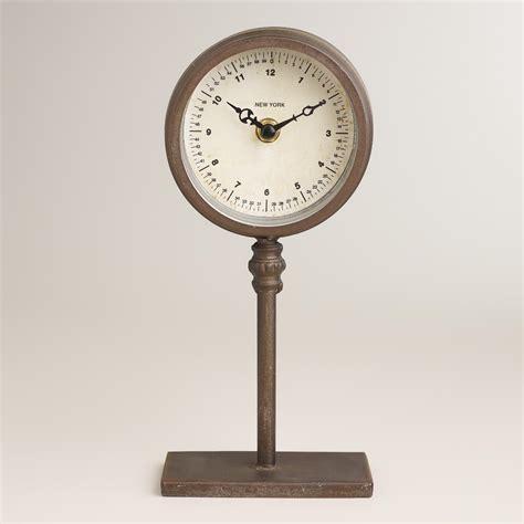 ryan pedestal clock world market - Pedestal Clock