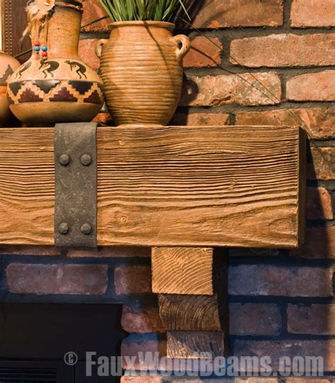 fireplace mantels rugged design ideas with wood