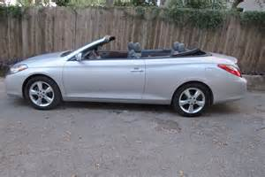 2008 Toyota Camry Solara Convertible For Sale 2008 Toyota Camry Solara Sle Convertible For Sale Cargurus