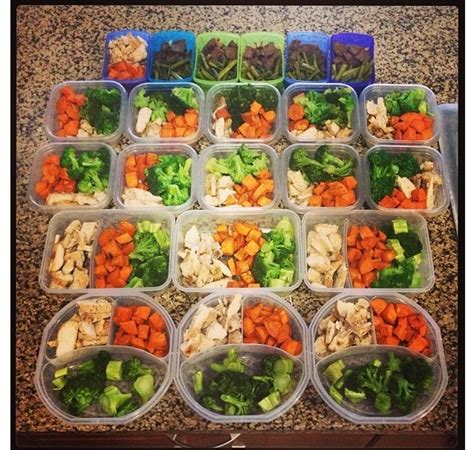 operation prep healthy meals and snacks health pinterest chicken broccoli meals and meal
