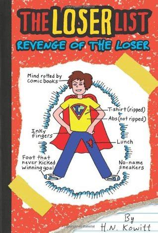 the losers books of the loser the loser list 2 by h n kowitt