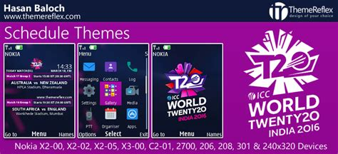 nokia x2 cricket themes icc world t20 schedule themes for nokia series 40 devices