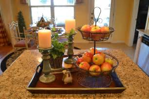 Centerpiece Ideas For Kitchen Table by Kristen S Creations Kitchen Island Vignette