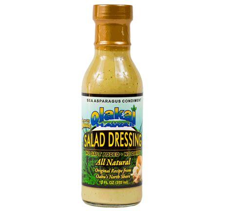 For Dressing by Salad Dressing 12 Oz Olakai Hawaii