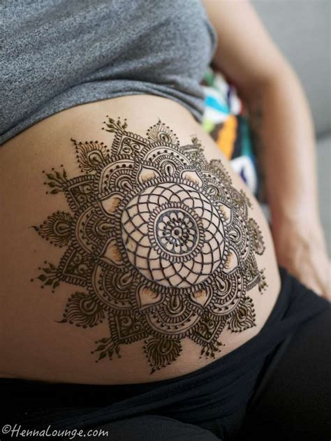 mandala temporary tattoo 17 best ideas about henna belly on bump