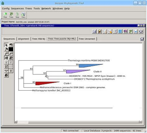 newick format converter bosque 1 8 a graphycal software to perform phylogenetic
