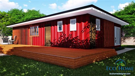 sch11 3 x 40ft 2 bedroom container home plans eco home