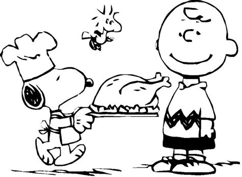 thanksgiving coloring page peanuts child thanksgiving with snoopy coloring page