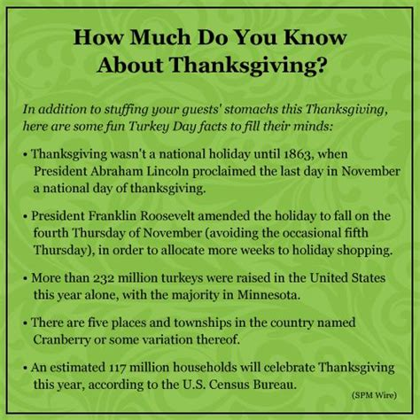 7 Facts On Thanksgiving by 10 Best Images About For Nonprofits On