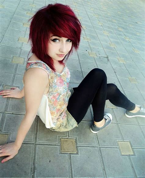 emo hair cuts front to back que pensez vous du look emo girl coin beaut 233