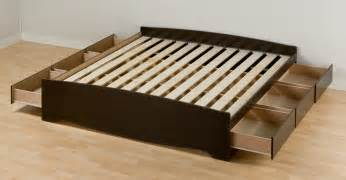 Platform Bed With Storage And Mattress Box Springs Vs Platform Beds Us Mattress