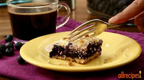 dessert recipes how to make blueberry crumb bars