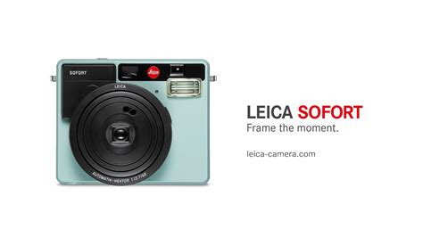 Leica Sofort leica releases its own instant it s beautiful