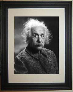 albert einstein framed albert einstein physicist framed photo picture ebay