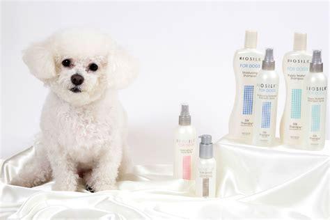 biosilk for dogs biosilk puppy waterless shoo spray care 4 dogs on the go