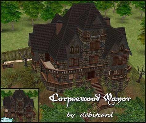Mansion Floor Plans Castle debitcard s corpsewood manor