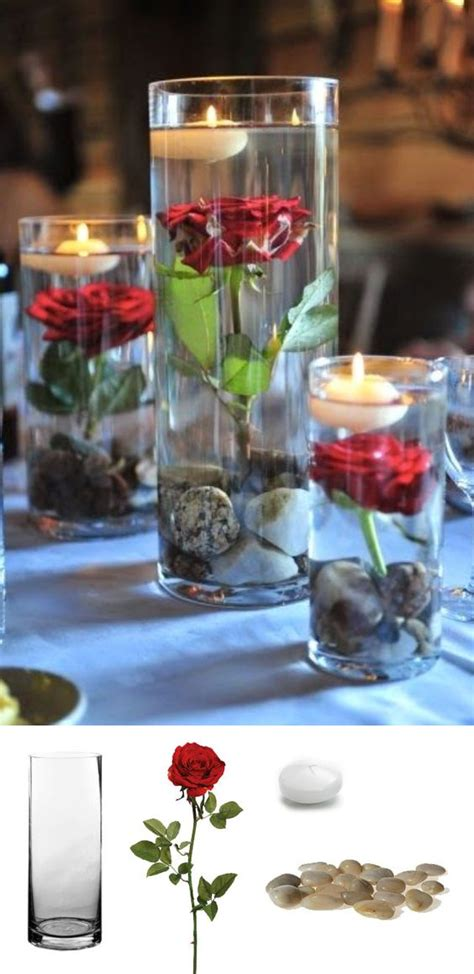 wedding centerpieces with candles and roses 2 37 floating flowers and candles centerpieces shelterness