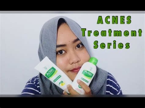 Jerawat Acnes lawan jerawat dengan acnes treatment series erselita