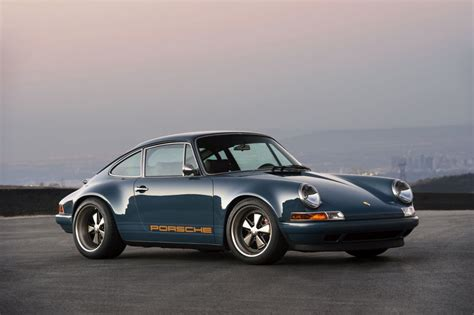 porsche singer blue best looking porsche 911 retro rides