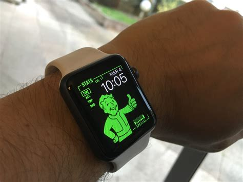 fallout wallpaper for apple watch fallout 4 pip boy presque sur l apple watch igeneration