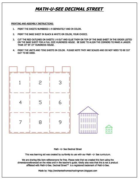 Printable Math U See Worksheets | math u see worksheets primer 1000 images about math u
