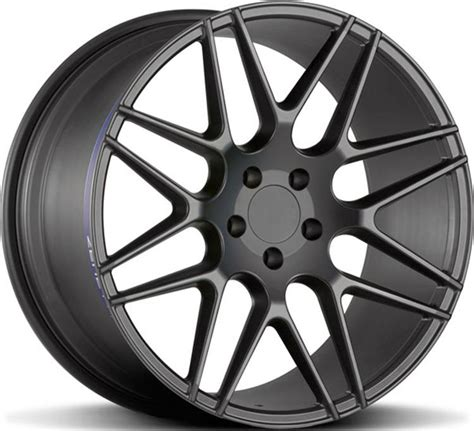 Painting 6061 Aluminum by Black Painting Forged Aluminum Alloy Car Wheels Rims