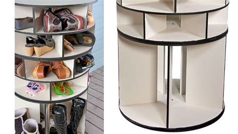 diy lazy susan shoe storage 5 diy shoe storage discountqueens