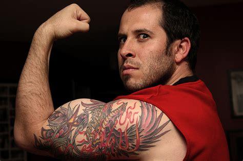 men bicep tattoo bicep tattoos