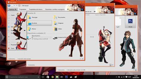 theme anime list theme anime windows 8 deviantart icons bellapriority