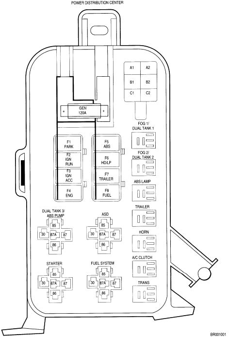 dodge caliber 2008 fuse box diagram get free image about