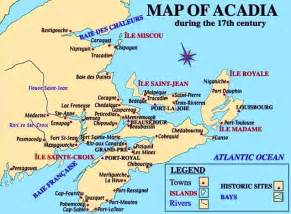 acadia canada map acadian genealogy homepage definitions of common acadian