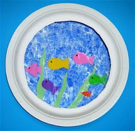 Paper Fish Bowl Craft - pin by tamela cain on one fish two fish fish blue