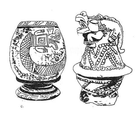 imagenes de jarrones mayas dibujos de jarrones chinos para colorear imagui