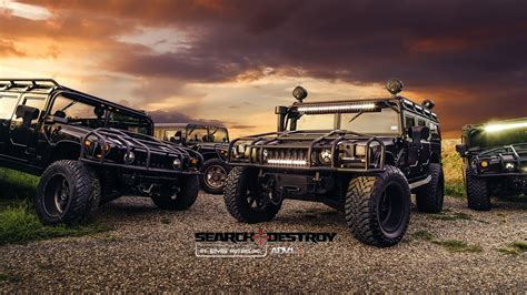 diesel brothers hummer diesel brothers these guys build some of the baddest