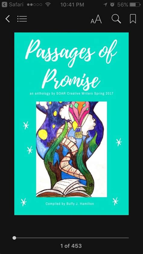 soar a memoir books passages of promise a student ebook anthology of creative