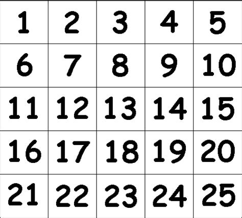 printable number 1 20 bingo number print driverlayer search engine