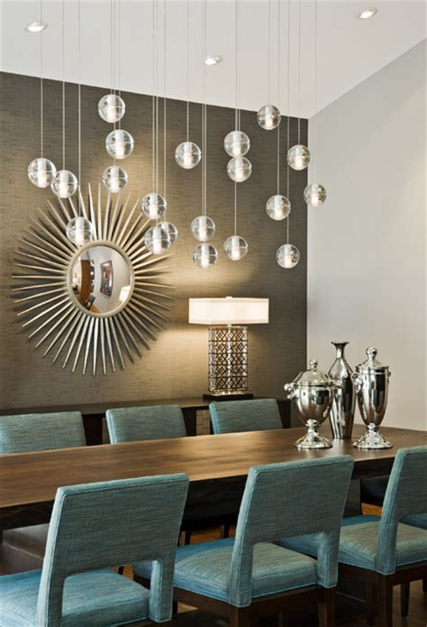 Contemporary Dining Room Lights by Tyrol Hills Modern Midcentury Dining Room