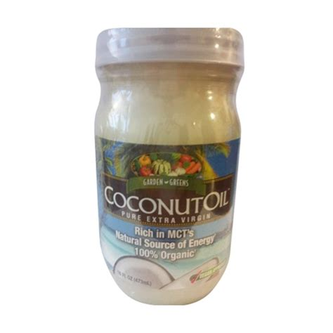 coconut oil americas best source for buying coconut oil buy garden greens coconut oil pure extra virgin 16 oz